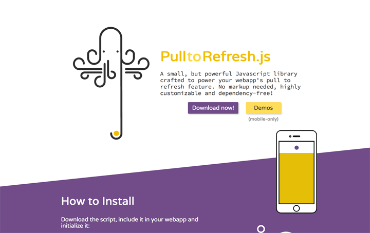 pull-to-refresh-js