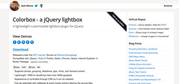 jQueryプラグイン「Colorbox」でYouTubeをライトボックス表示にしてみよう!