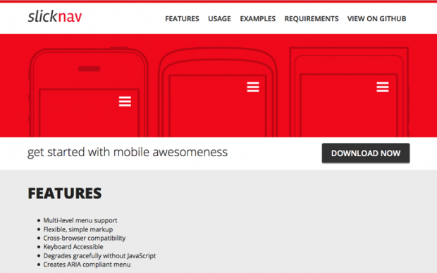 スマホサイトのメニューを実装できるjQuery、CSS3プラグインまとめ!