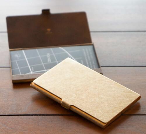 おしゃれなデザインのおすすめ名刺入れ、カードケース25選