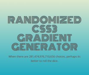 randomized-css3-gradient-generator