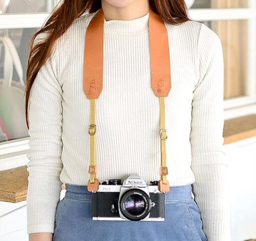 おしゃれなカメラストラップ3