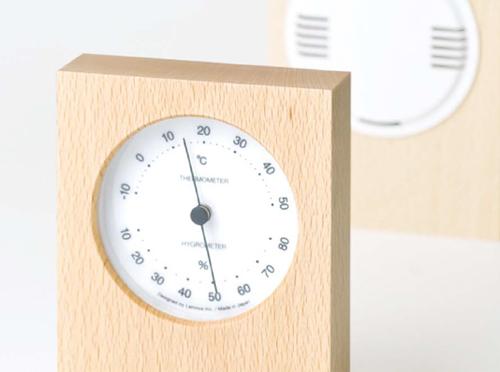 おしゃれな温度計・湿度計8