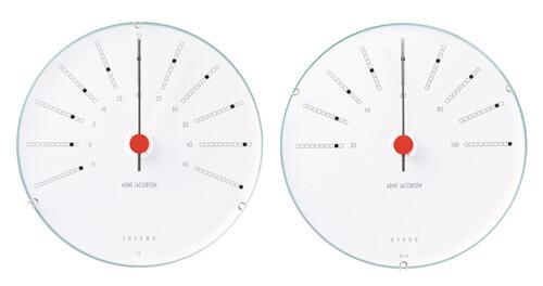 おしゃれな温度計・湿度計9