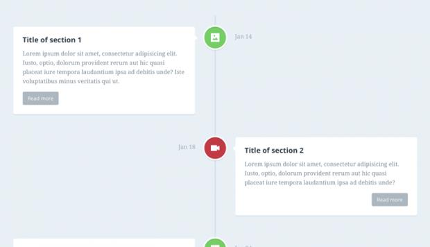 年表や沿革などのタイムラインを実装できるjQuery、JS、CSS3のプラグインまとめ!