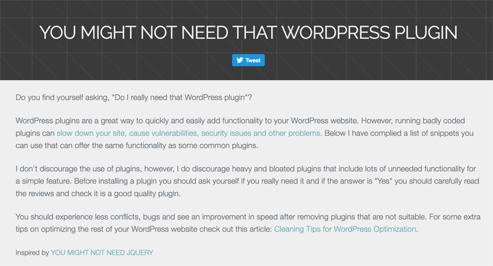 you-might-not-need-that-wordpress-plugin
