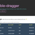 table-dragger