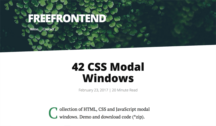 42-css-modal-windows