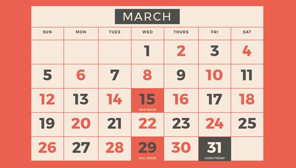 CSSで出来た様々なカレンダーを集めたサイト「22 CSS Calendars」