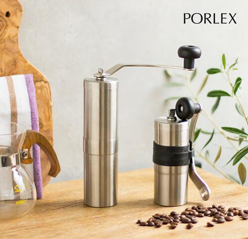 コーヒーミル・グラインダーのサイズ