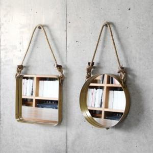 おしゃれなデザインのおすすめ壁掛け鏡・ウォールミラー25選【インテリア】