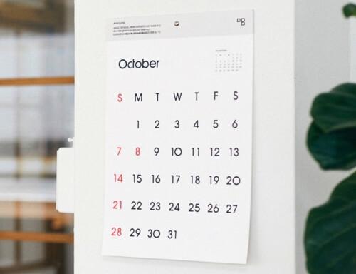 おしゃれなデザインの2018年版カレンダーのおすすめ15選【インテリア】