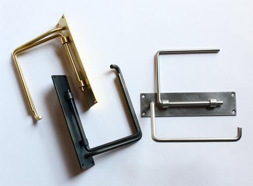 おしゃれなトイレットペーパーホルダー5選。アイアンや真鍮、木製の棚付きもおすすめ
