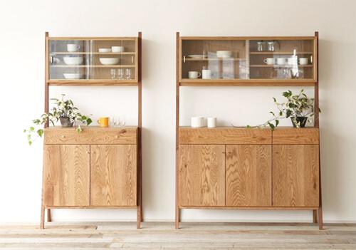 おしゃれな食器棚、キッチンボード