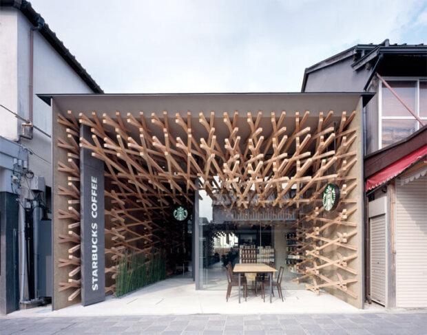 建築家の隈研吾の建築作品15選。話題のスタバや無印の窓の家など