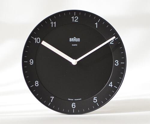 掛け時計のサイズ