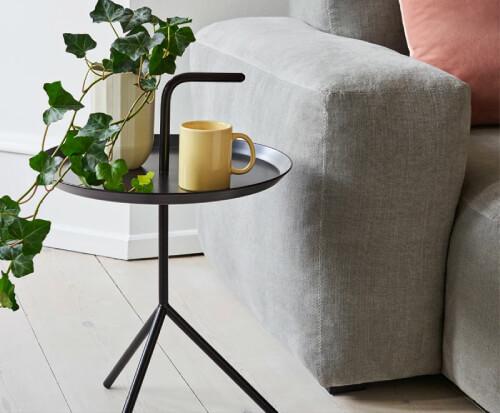 サイドテーブルのデザイン