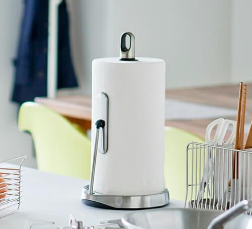 おしゃれなキッチンペーパーホルダーのおすすめ12選。かわいいデザインからマグネットタイプまで