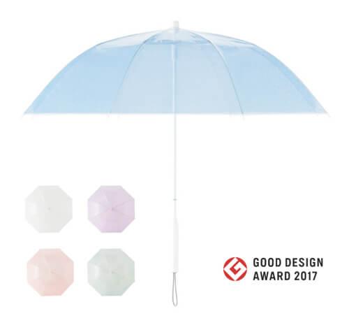 ビニール傘の開閉方法
