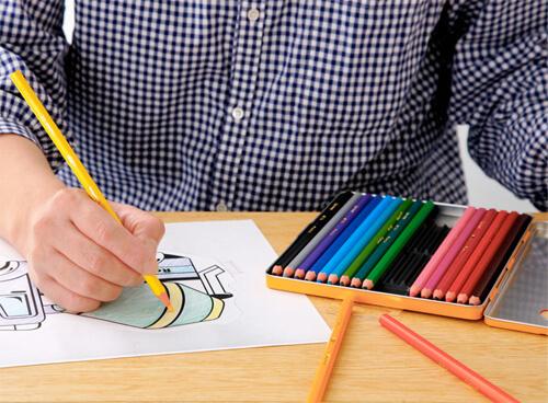 おしゃれな色鉛筆5