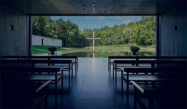 北海道にある建築家の安藤忠雄の建築作品4選。水の教会など
