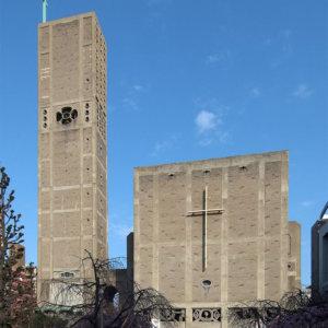 建築家の村野藤吾の建築作品13選。代表作の世界平和記念聖堂や日生劇場など