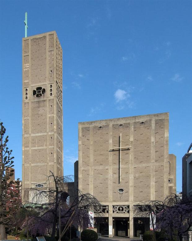 建築家の村野藤吾の建築作品12選。代表作の世界平和記念聖堂や日生劇場など