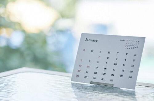 カレンダーのタイプ