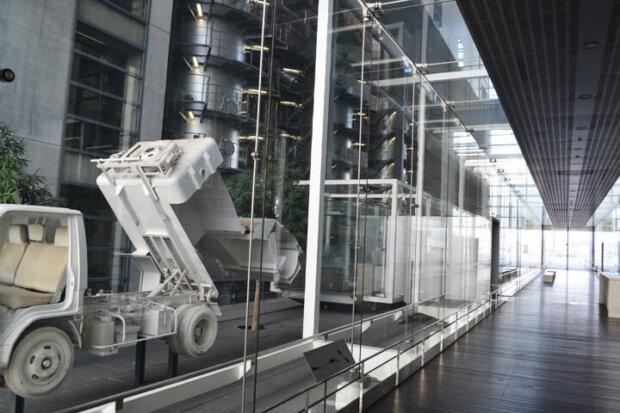 まるで美術館!谷口吉生が設計した広島のゴミ処理場「広島市環境局中工場」