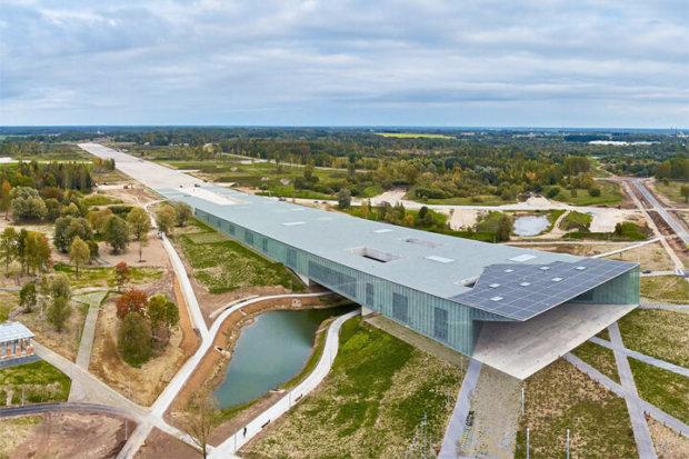 建築家の田根剛の建築作品6選。代表作のエストニア国立博物館など