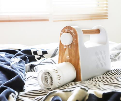 布団乾燥機のデザイン