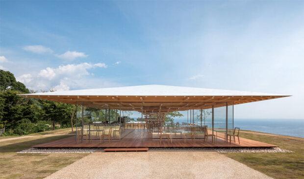 熱海にある建築家の隈研吾の建築作品4選。カフェからホテルまで