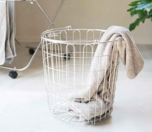 洗濯かご・ランドリーバスケットの素材