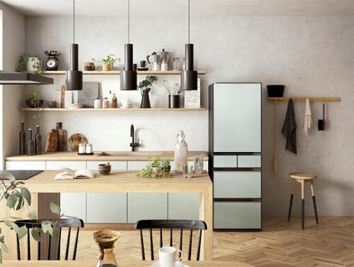 冷蔵庫のデザイン