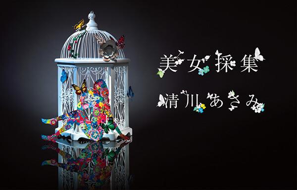 アーティストの清川あさみの作品11選。代表作の美女採集など