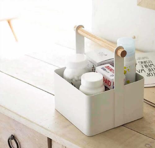 おしゃれな裁縫箱・ソーイングボックス5