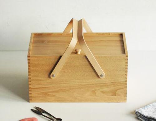 裁縫箱・ソーイングボックスのデザイン