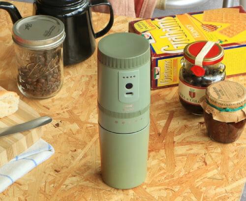 おしゃれなミル付きコーヒーメーカー3