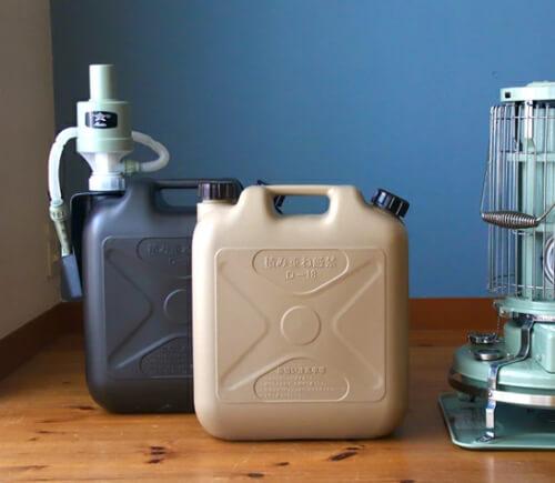 灯油ポリタンクの容量