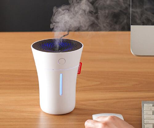 【2021年版】おしゃれな卓上加湿器10選。かわいいデザインもおすすめ