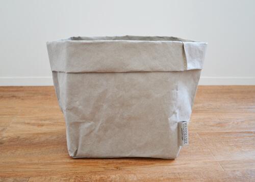 【UASHMAMA(ウォッシュママ)のウォッシャブルペーパーバッグレビュー】生活感のある物をおしゃれに隠せる収納バッグ