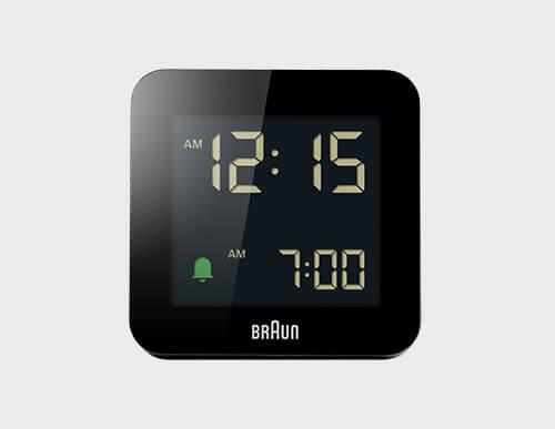 目覚まし時計の表示方法
