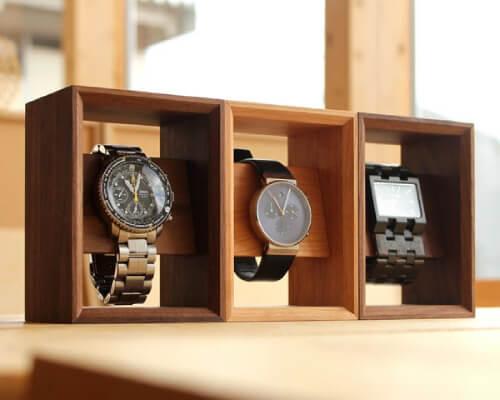おしゃれな腕時計スタンド2